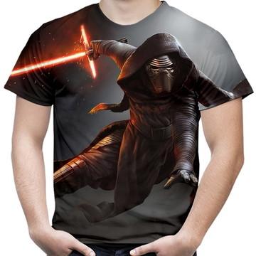 Camiseta Masculina Kylo Ren Star Wars 02