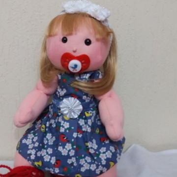 Boneca Bebe de pano