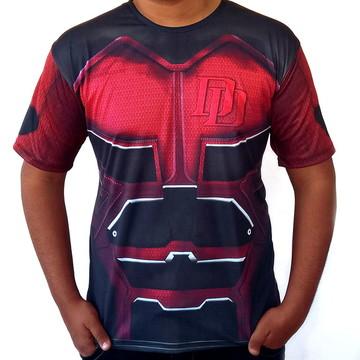 Camiseta Masculina Armadura Daredevil