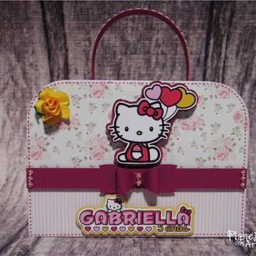 Caixa Maleta Hello Kitty