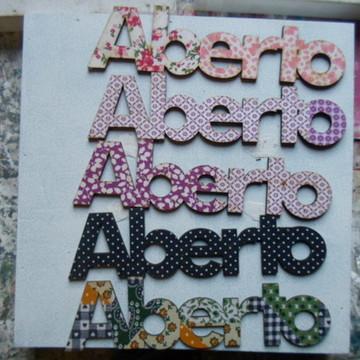 """RECORTE """"ABERTO DX 008''"""