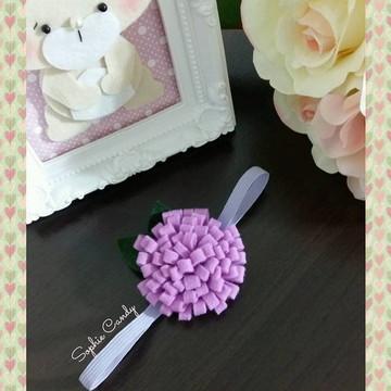 Headband Flores para bebês