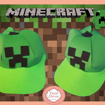 Minecraft Boné