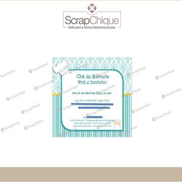 Convite Digital Chá de Barnela