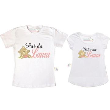 Kit Chá de bebê ursinha personalizado