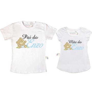 Kit Chá de bebê ursinho personalizado