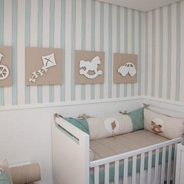 Kit de Quadrinho para quarto de bebê