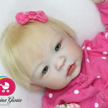 Boneca Bebê Reborn Fabi