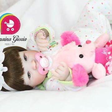 Boneca Bebê Reborn Camila