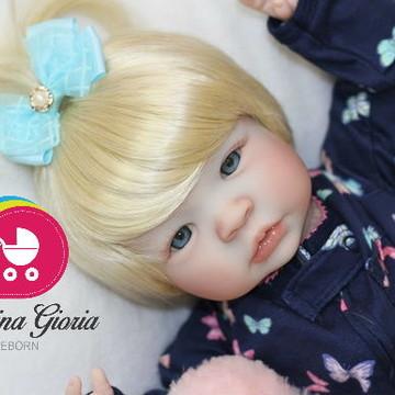 Boneca Bebê Reborn Mari