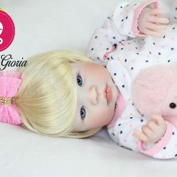 Boneca Bebê Reborn Bia