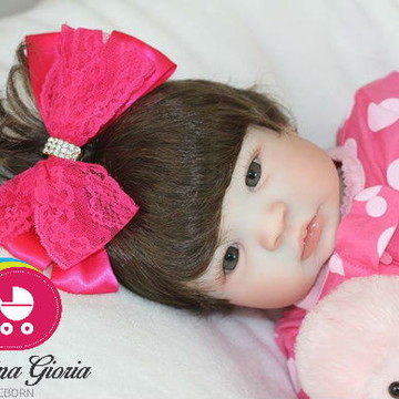 Boneca Bebê Reborn Livia