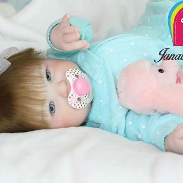 Boneca Bebê Reborn Bibi
