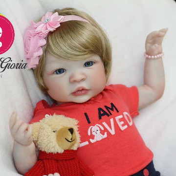Boneca Bebê Reborn Agata