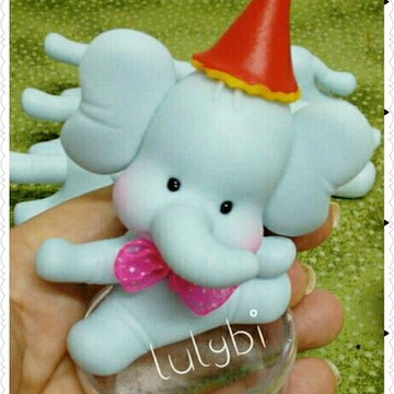 Lembrancinha Elefantinho baby
