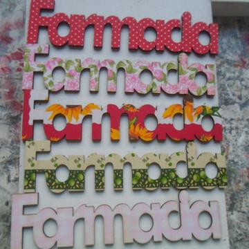 """RECORTE """"FARMÁCIA DX 011''"""