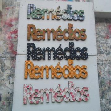 RECORTE REMÉDIOS DX 010''