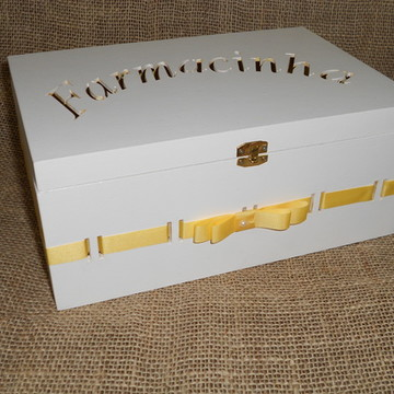 Kit higiene - Amarelo e Branco
