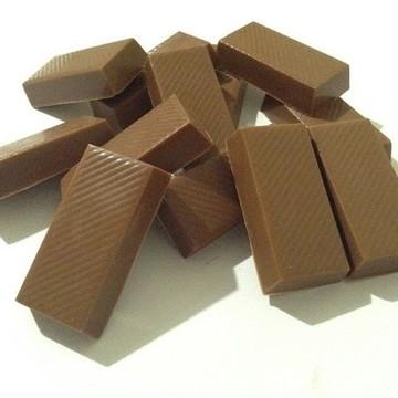 Chocolate belga - barrinhas ao leite