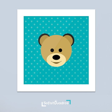 Quadro decorativo para quarto de bebê 01