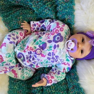 Bebê Reborn Alice 2016. ADOTADA!!