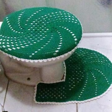 Jogo de Banheiro em croche