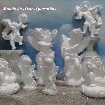 Kit de anjos para batizado