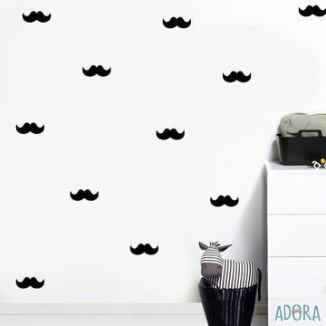 Adesivo Mustache (bigodes)