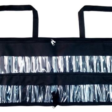 Bolsa porta esmaltes 48 a 96 c/ ziper