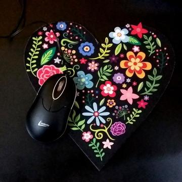 Mousepad de Coração