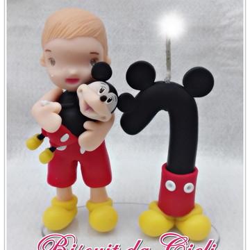 Topo de Bolo Mickey 1 ano