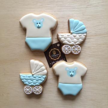 Biscoitos Decorados - Chá de Bebê
