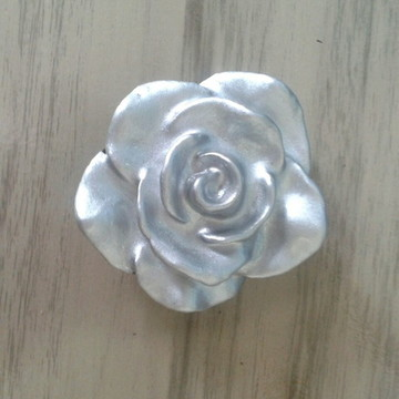 Puxador Rosa PRATA