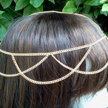 head chain ondinhas correntes