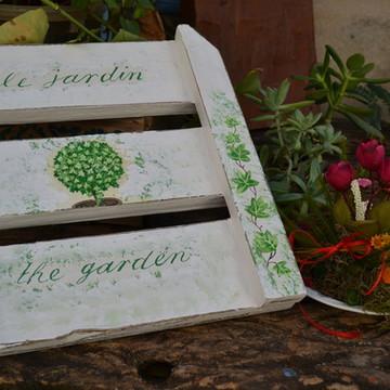 Placa Jardim