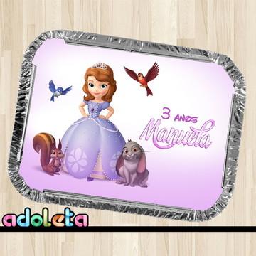 Marmitinha Personalizada Princesa Sofia