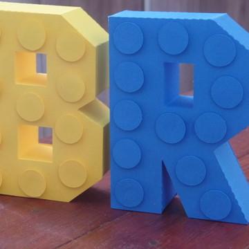 Letras 3D lego