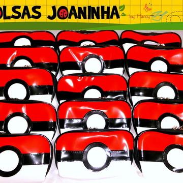 Estojo Pokebola, Estojo Pikachu, Lembrancinha Pokemon (cada)