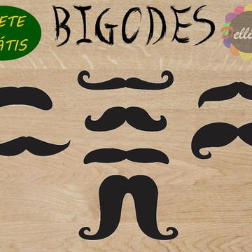 Aplique - Bigodes 3 Cm