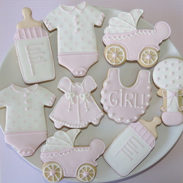 Biscoito Decorado Chá Bebê / Maternidade