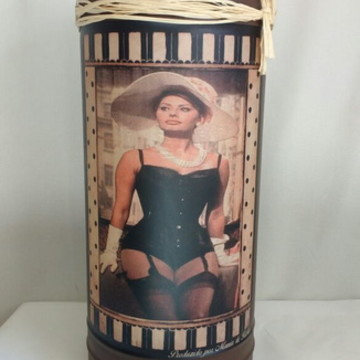 Porta Guarda Chuva Vintage Retrô Sofia Loren
