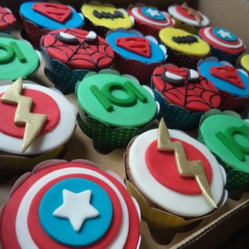 Cupcakes - Superman