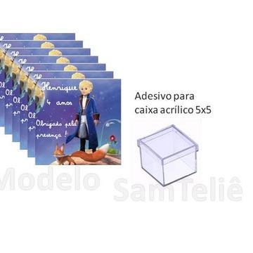 Adesivos Pequeno Principe para caixinha