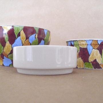 Cumbucas Mosaico folhas
