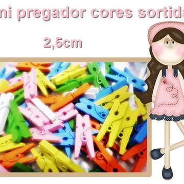 mini pregador CORES SORTIDAS