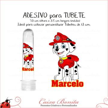 Adesivos para Tubete - Patrulha Canina