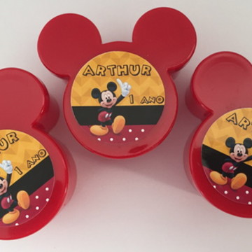 Caixinha orelha Mickey e minnie