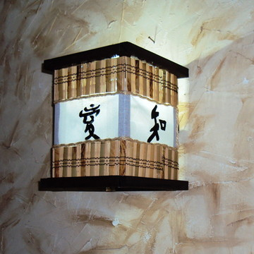 arandela luminaria de parede ideograma