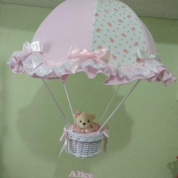 Lustre paraquedas pendente personalizado nome Alice