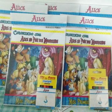 Livro de colorir com GIZ Alice